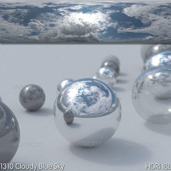 HDRI IBL 1310 Cloudy Blue Sky - 3DOcean Item for Sale