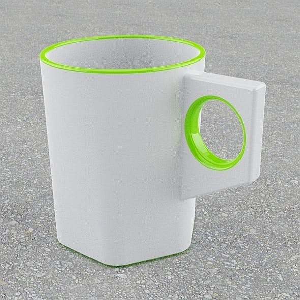 Simple stylish mug