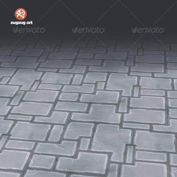 Stone Floor Texture Tile - 3DOcean Item for Sale