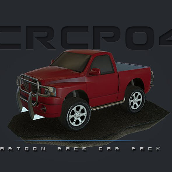 CRCP04 - Cartoon Race Car Pack 04