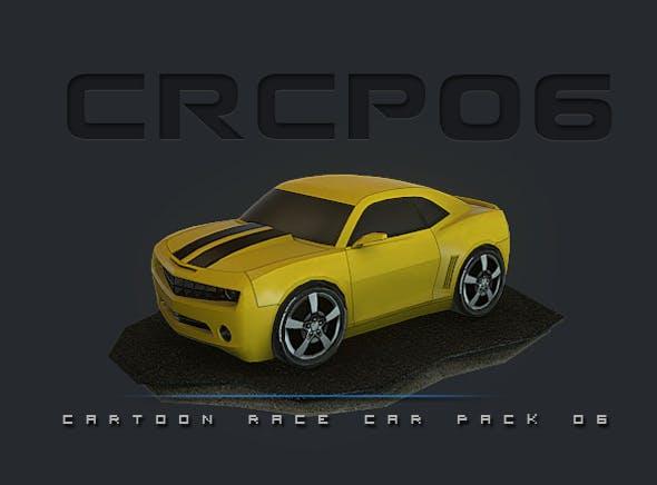 CRCP06 - Cartoon Race Car Pack 06 - 3DOcean Item for Sale