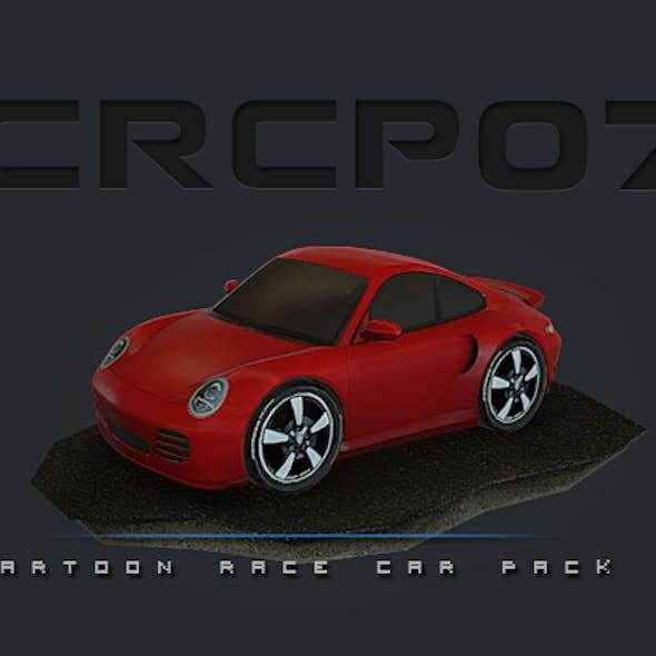 CRCP07 - Cartoon Race Car Pack 07