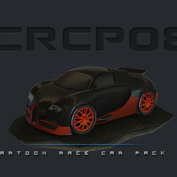 CRCP08 - Cartoon Race Car Pack 08