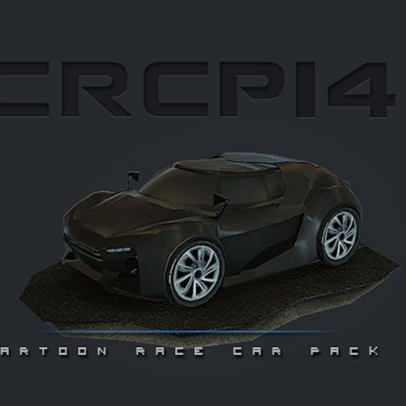 CRCP14 - Cartoon Race Car Pack 14