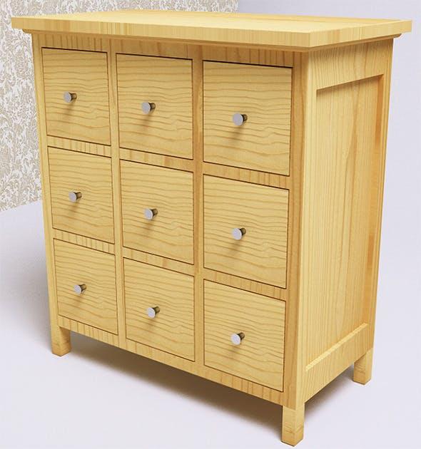Furniture / Storage (VrayC4D) - 3DOcean Item for Sale