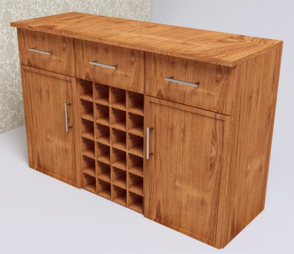 Wine Bar's (VrayC4D) - 3DOcean Item for Sale