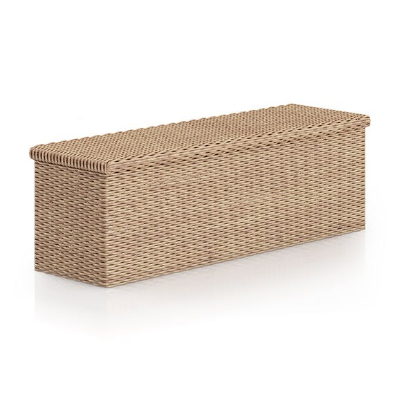 Wicker Chest - 3DOcean Item for Sale