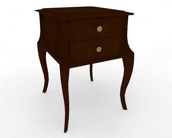Bedside Table - 3DOcean Item for Sale