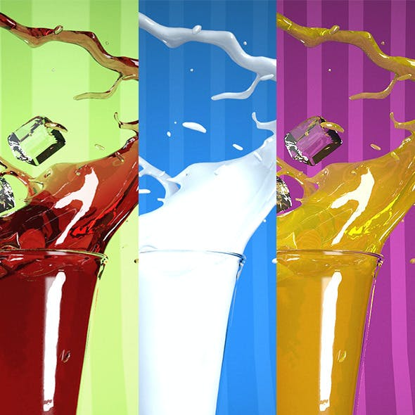 Splashing Juice