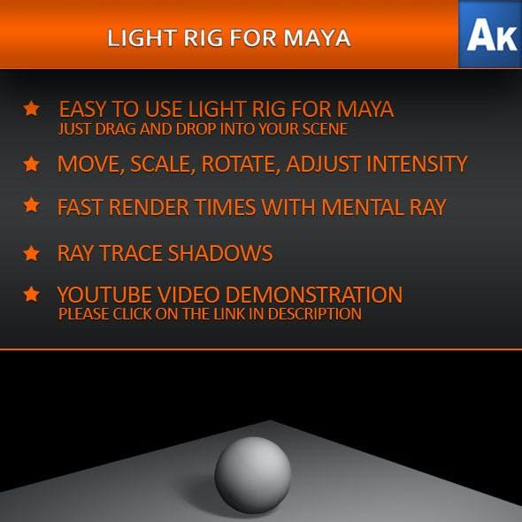 Light Rig for Maya
