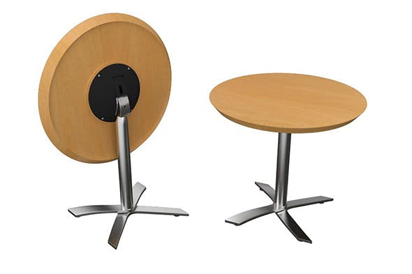 Flip-top Round Office Table - 3DOcean Item for Sale