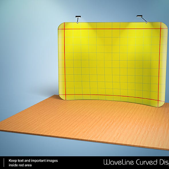 3D Waveline Curved Display