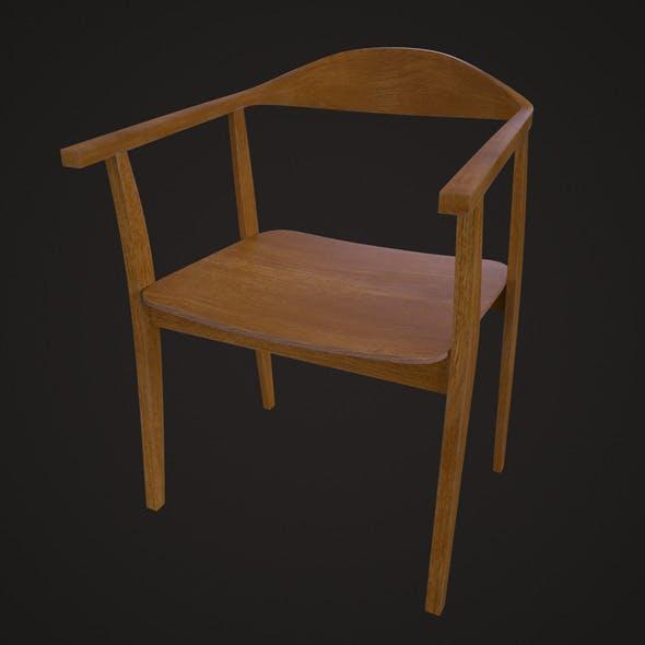 IKEA Stockholm Chair - Oak - 3DOcean Item for Sale