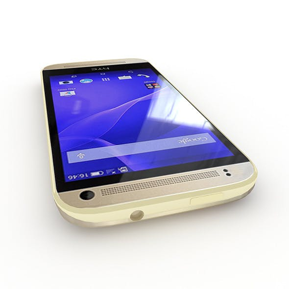 HTC One Mini 2 Amber Gold - 3DOcean Item for Sale