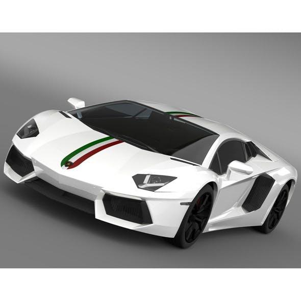 Lamborghini Aventador LP 700 4 Nazionale LB834 201