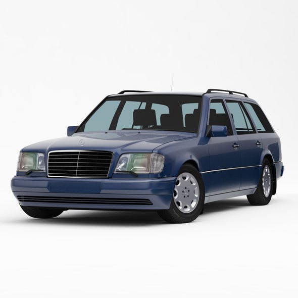 Mercedes-Benz W124 / S124 E-Class Touring 1993-95 - 3DOcean Item for Sale