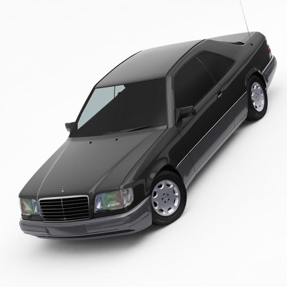 Mercedes-Benz W124 / C124 E-Class Coupe 1993-96