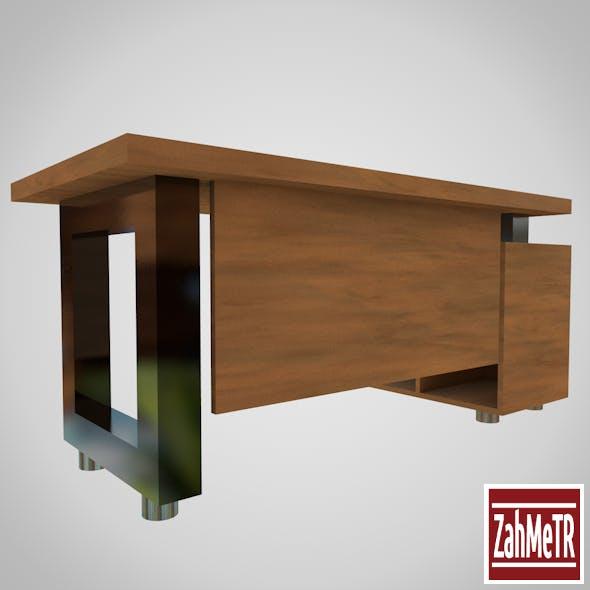 Office Desk Table 001 - 3DOcean Item for Sale