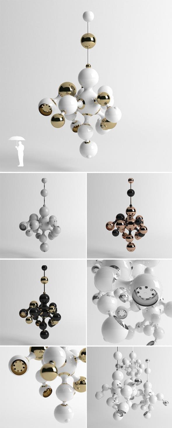 Delightfull Atomic lamp - 3DOcean Item for Sale