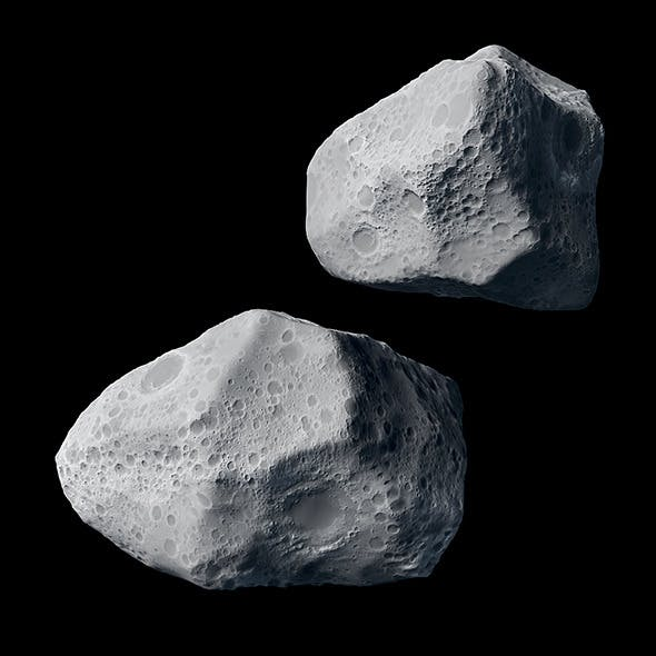 Asteroid - 3DOcean Item for Sale
