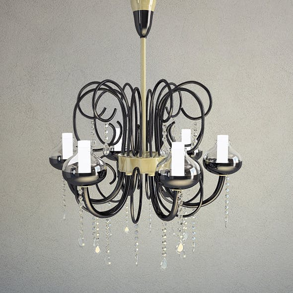 Chandelier Intrecci, Lamp - 3D Model