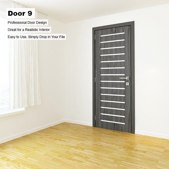 Door 9 - 3DOcean Item for Sale