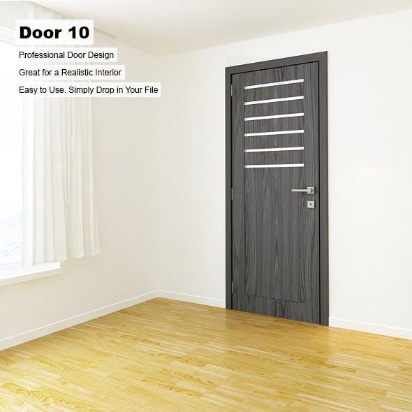 Door 10 - 3DOcean Item for Sale