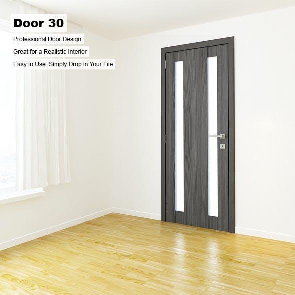 Door 30 - 3DOcean Item for Sale