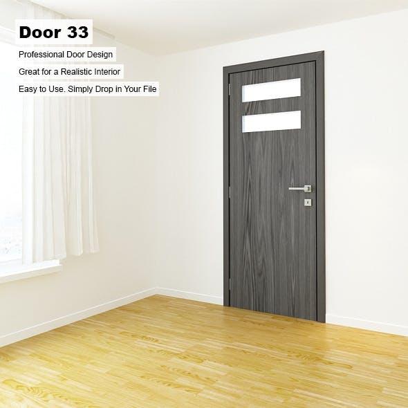Door 33 - 3DOcean Item for Sale