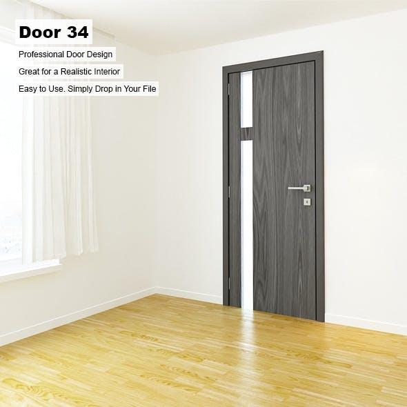 Door 34 - 3DOcean Item for Sale