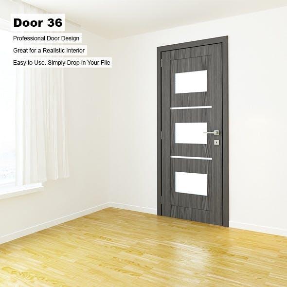 Door 36 - 3DOcean Item for Sale