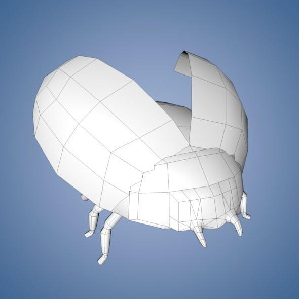 Ladybug Base Mesh - 3DOcean Item for Sale