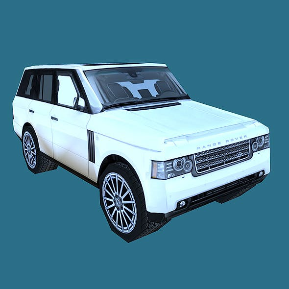 Land Rover Range Rover L405 2014 3d Model From Humster3d: 3D Car Models From 3DOcean (Page 9