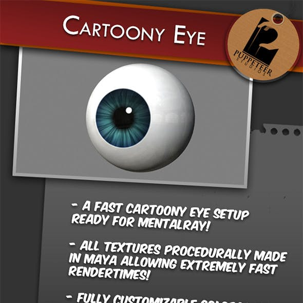 Cartoony Eye