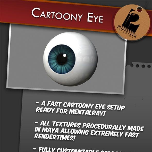 Cartoony Eye