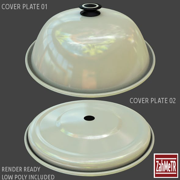 Cover Plates 1 - 2 Low / High Polygons