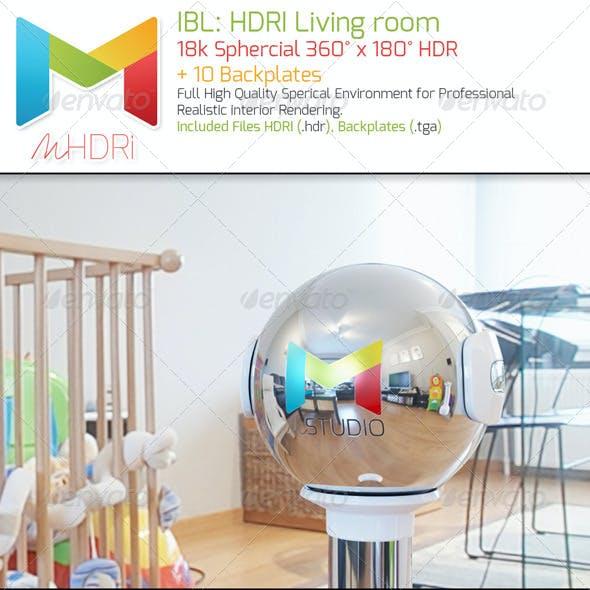 IBL: HDRI Living room