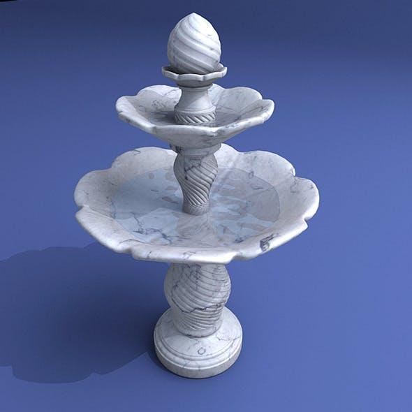 Fountain Model B - 3DOcean Item for Sale