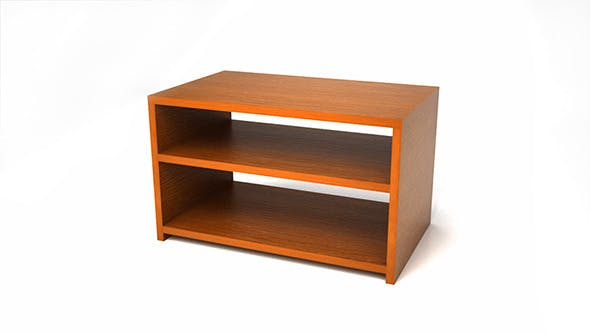 Small Wood Tv Table - 3DOcean Item for Sale